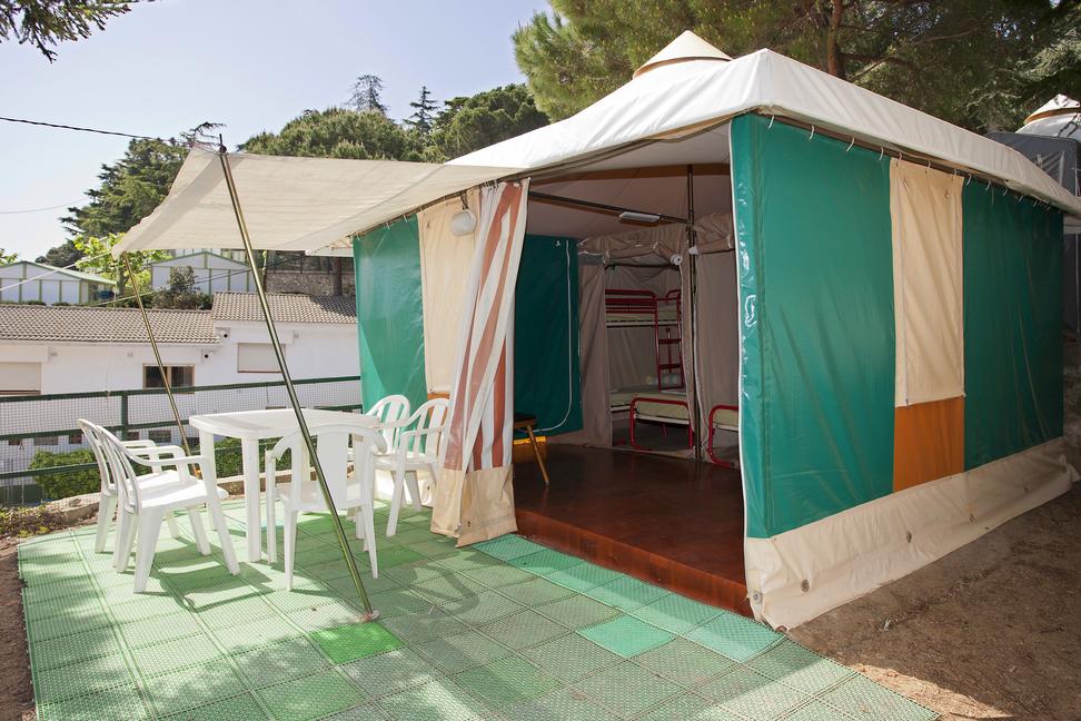 Bungalows toilés du Camping El Far