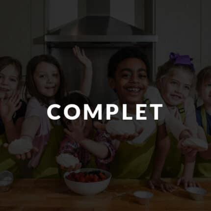Enfants Cuisiniers en colonies de vacances