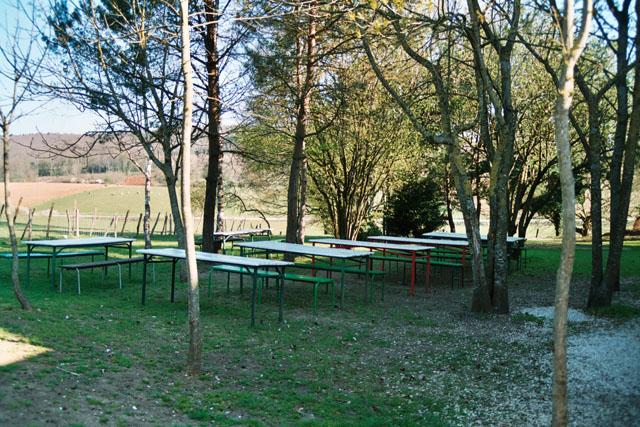Centre de vacances du Lac Sauvin jardin