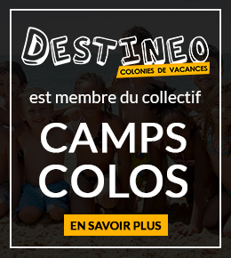 Destineo est membre du Collectif Camps Colos