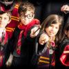 Colonie de vacances à l'école des sorciers enfants Gryffondor